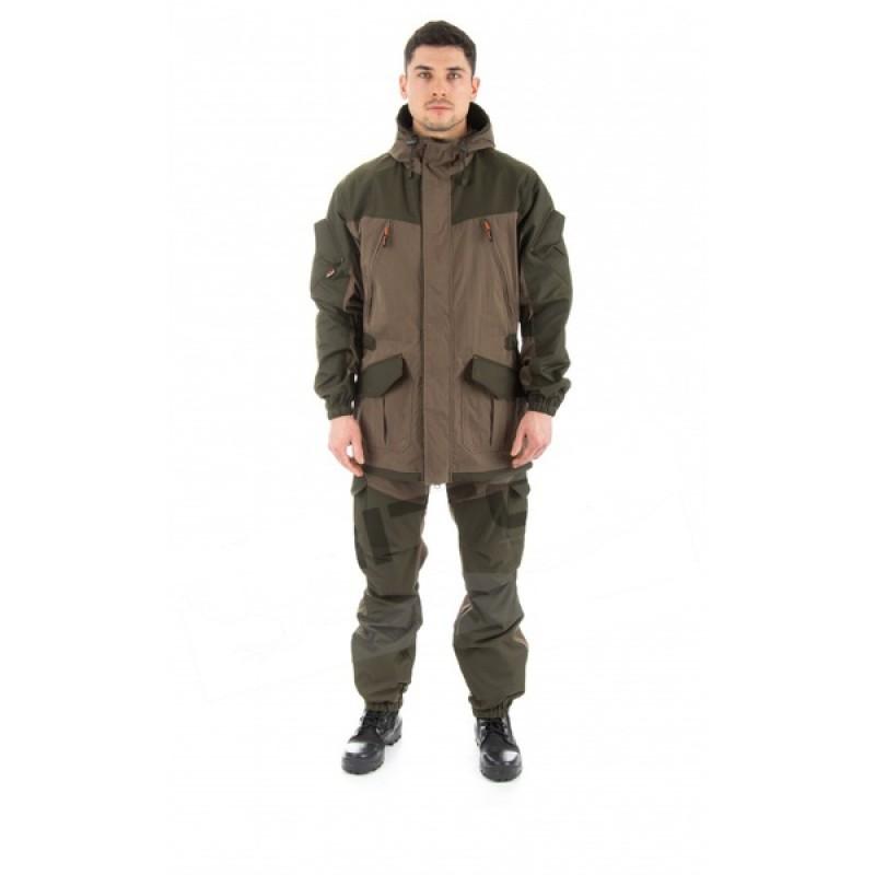 Летний костюм для охоты и рыбалки TRITON Горка (Хлопок 110 гр., хаки) (фото 2)