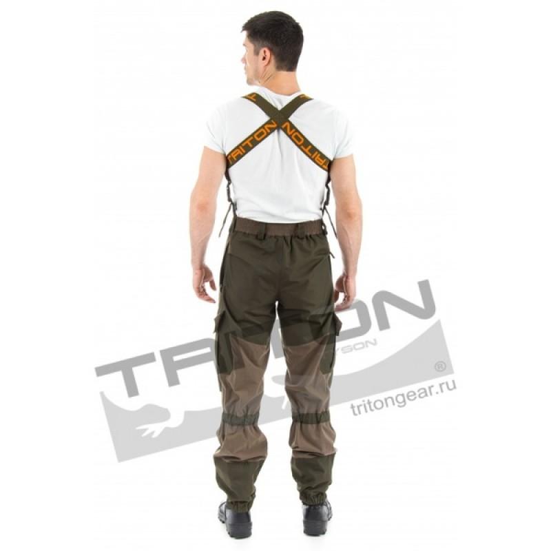 Летний костюм для охоты и рыбалки TRITON Горка (Хлопок 110 гр., хаки) (фото 3)