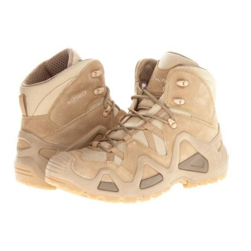 Тактические ботинки Lowa ZEPHYR GTX MID TF Desert