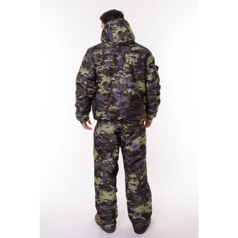 Зимний костюм для охоты и рыбалки ONERUS Патриот -45 (Алова, Коричневый) Полукомбинезон (фото 3)