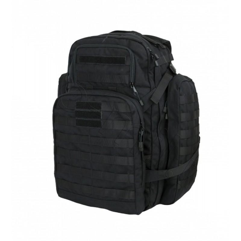 Тактический рюкзак трёхдневный SSO Вихрь 43л. Рип-стоп, черный