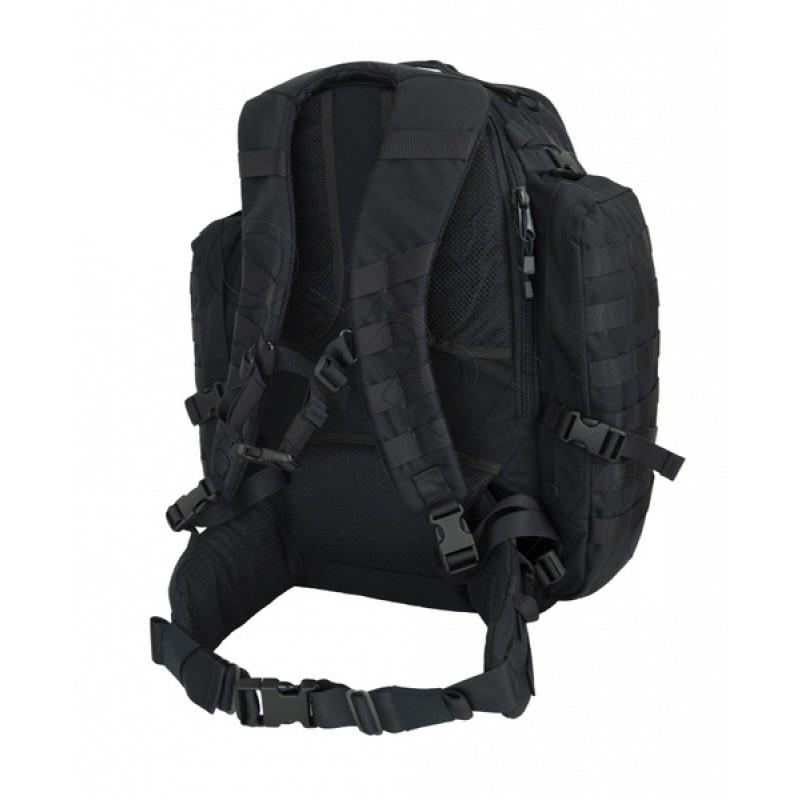 Тактический рюкзак трёхдневный SSO Вихрь 43л. Рип-стоп, черный (фото 2)