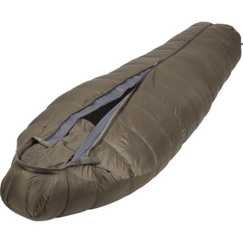 Спальный мешок СПЛАВ Mission Light 190 (олива, пуховый)