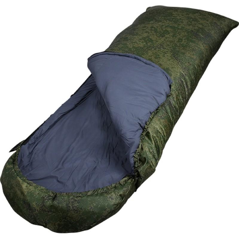 Спальный мешок СПЛАВ Scout 3 K (зеленый, левый) (фото 2)