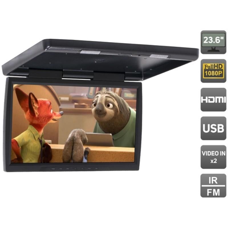 Потолочный монитор для автомобиля Потолочный монитор 23,6 AVEL AVS2230MPP (черный) (фото 2)