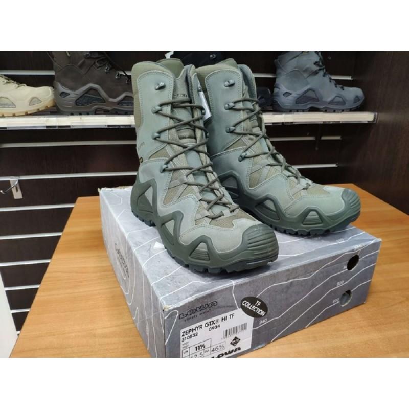 Тактические ботинки Lowa ZEPHYR GTX HI TF Sage (фото 2)