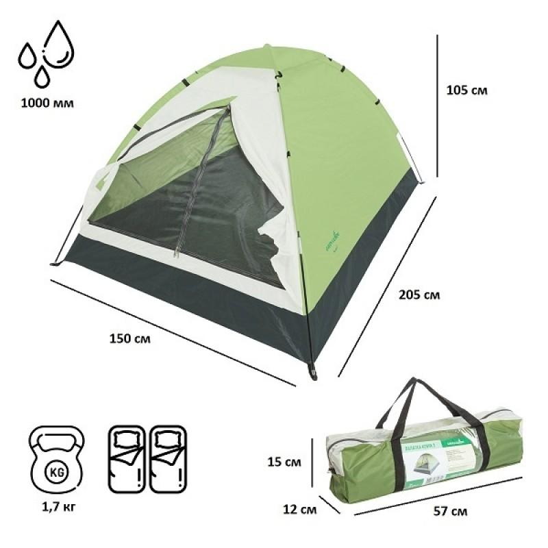 Палатка-шатер Green Glade Kenya 2 (фото 3)