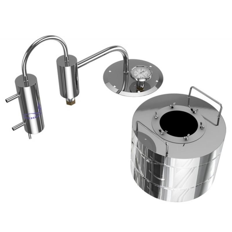 Самогонный аппарат (дистиллятор) ФЕНИКС Мечта 10 литров с разборным сухопарником (фото 2)