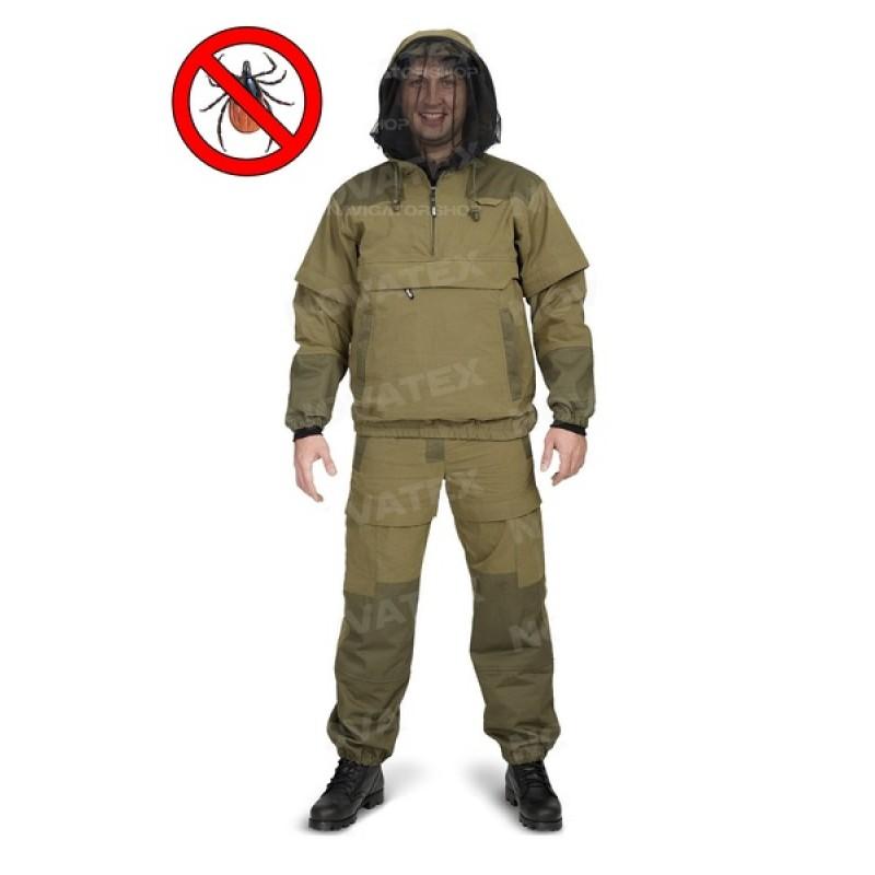 Летний костюм для охоты и рыбалки «Элит Барьер NEW» (Смесовая, Хаки) PAYER