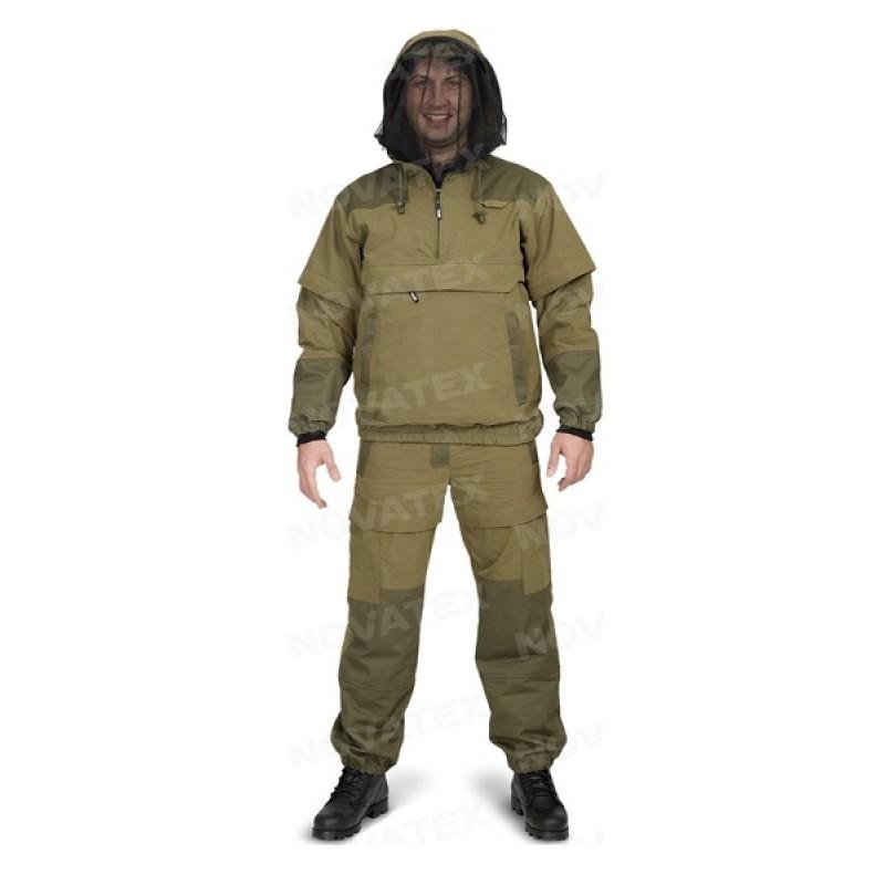 Летний костюм для охоты и рыбалки «Элит Барьер NEW» (Смесовая, Хаки) PAYER (фото 2)