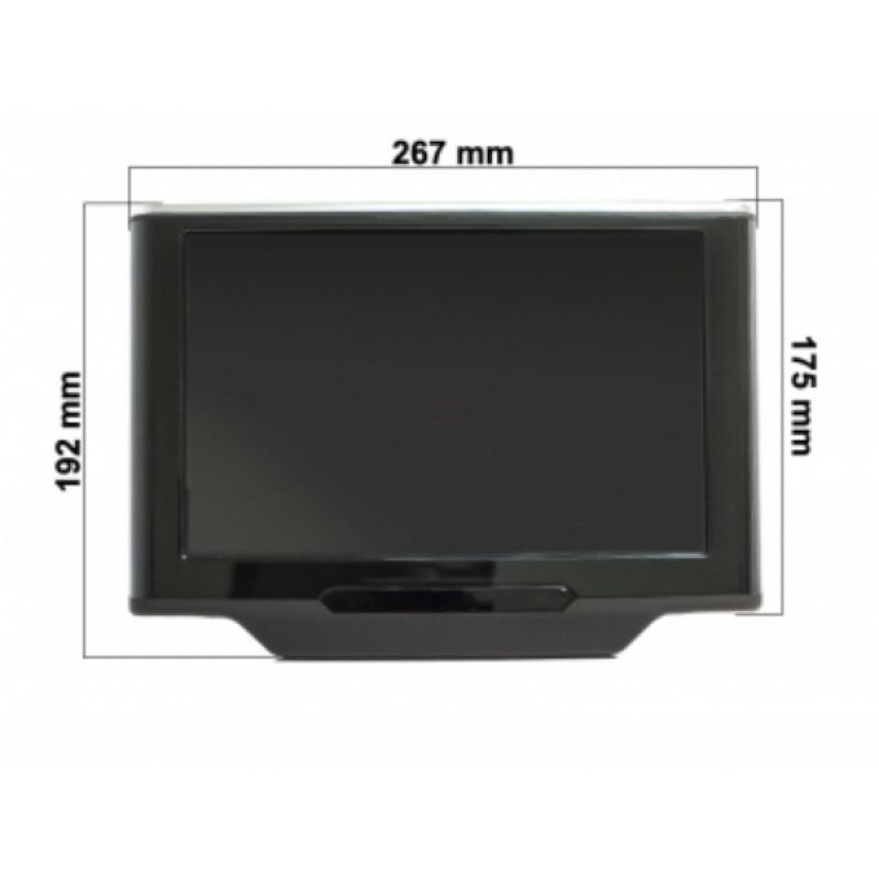 Комплект навесных мониторов 10.1 AVEL AVS1033AN (#01) на Android (фото 2)
