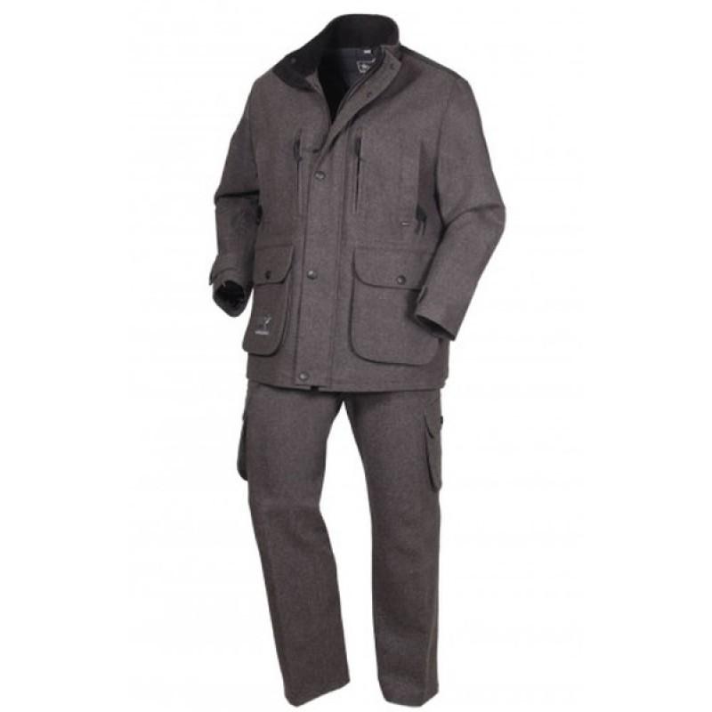 Осенний костюм для охоты и рыбалки ОКРУГ «Суконный» (сукно, серый)