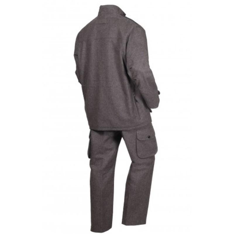 Осенний костюм для охоты и рыбалки ОКРУГ «Суконный» (сукно, серый) (фото 2)
