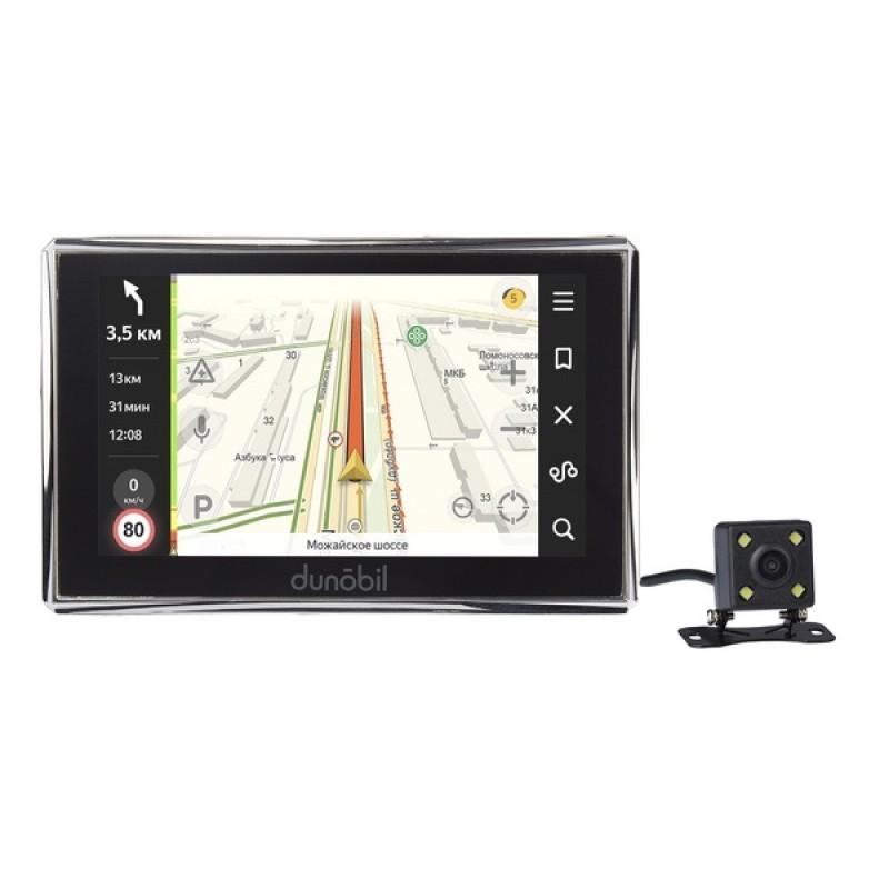 Навигатор Dunobil Consul 5.0 Parking Monitor с камерой заднего вида