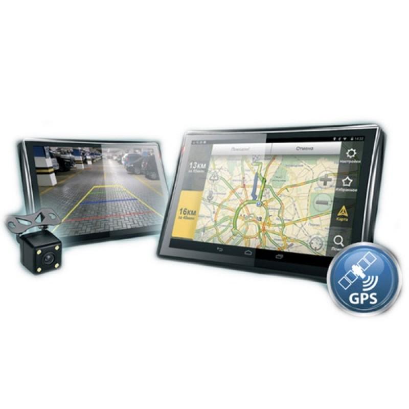 Навигатор Dunobil Consul 5.0 Parking Monitor с камерой заднего вида (фото 2)