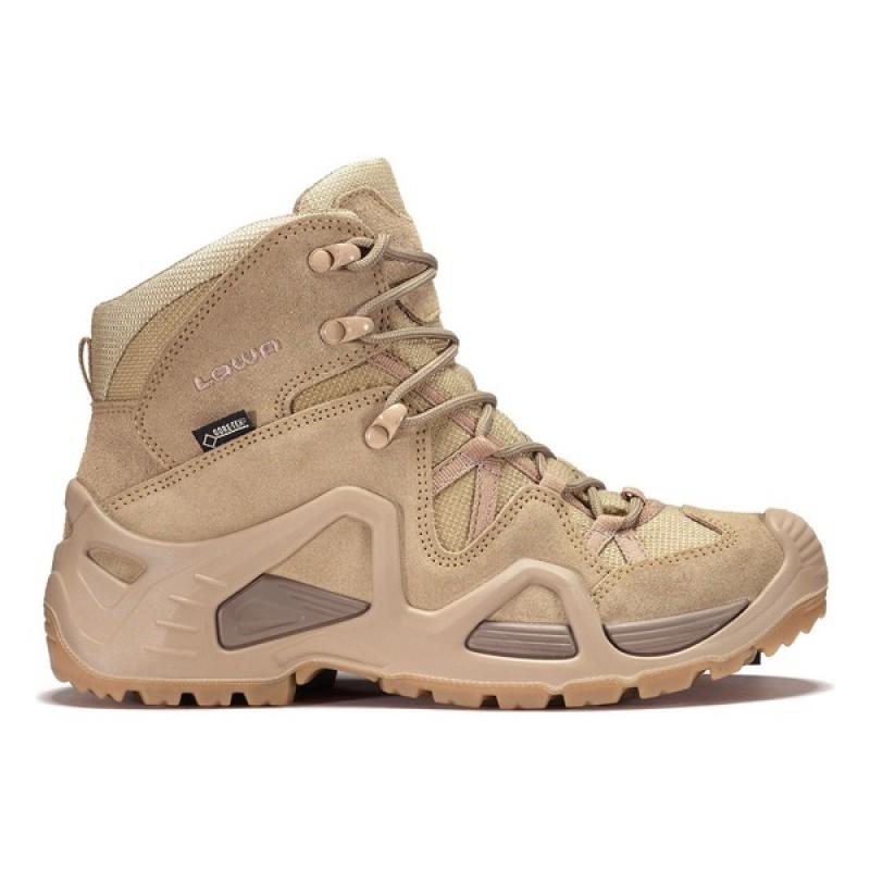 Женские тактические ботинки Lowa ZEPHYR GTX MID TF WS Desert