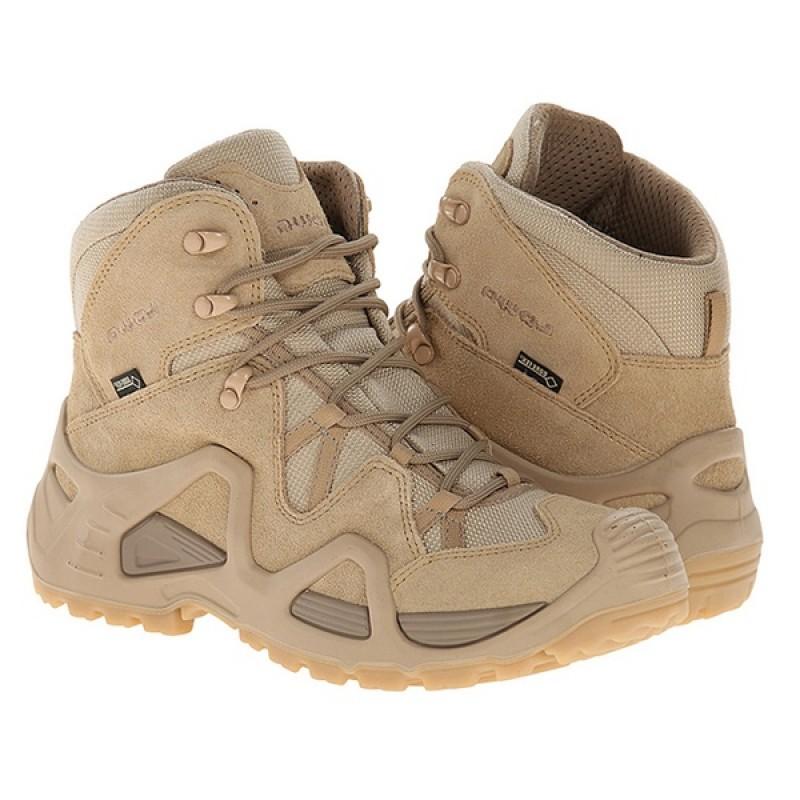 Женские тактические ботинки Lowa ZEPHYR GTX MID TF WS Desert (фото 2)