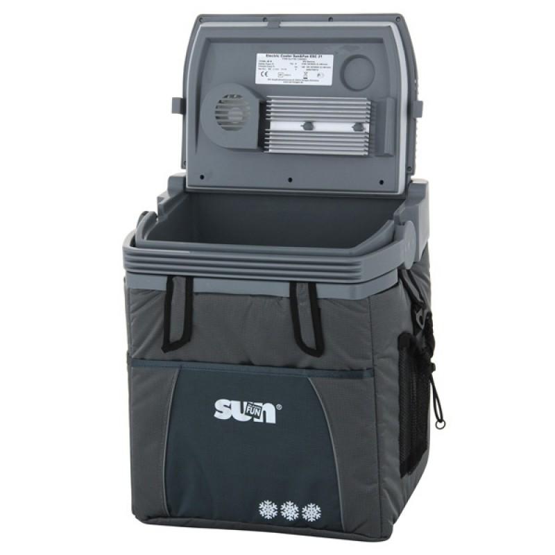 Автомобильный холодильник Ezetil ESC 21 Sun&Fun 12V silver (фото 2)