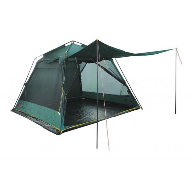 Палатка Tramp  Bungalow Lux Green (V2) (фото 2)