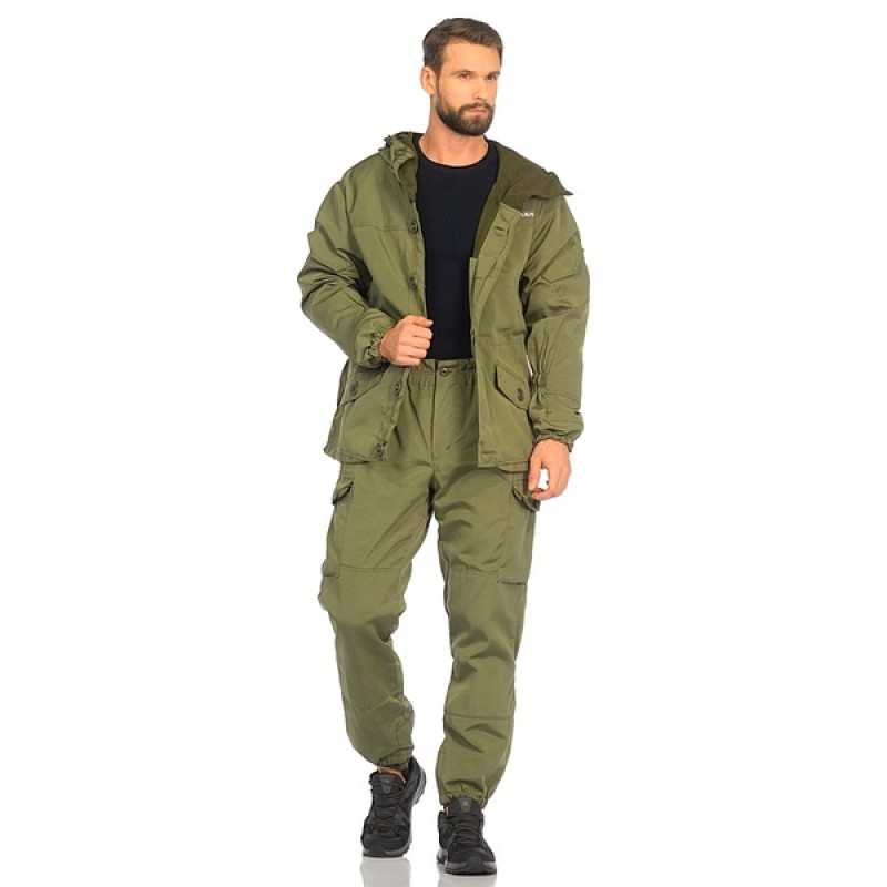 Демисезонный костюм Huntsman Горка-3 цвет Хаки ткань Смесовая Рип-Стоп