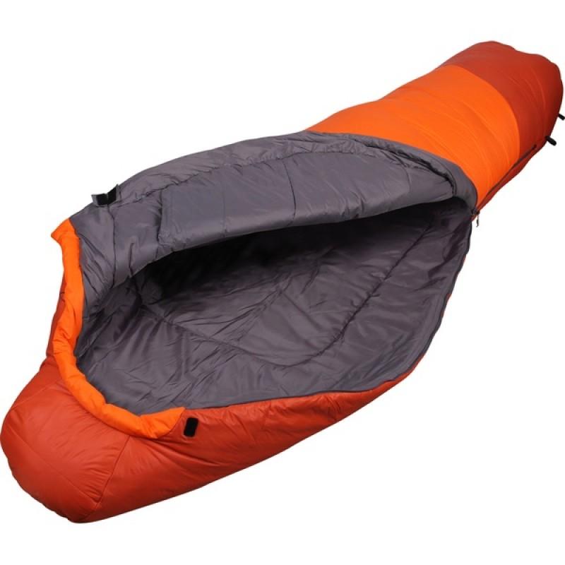 Спальный мешок СПЛАВ Fantasy 340 мод. 2 Primaloft (терракот/оранжевый, правый)