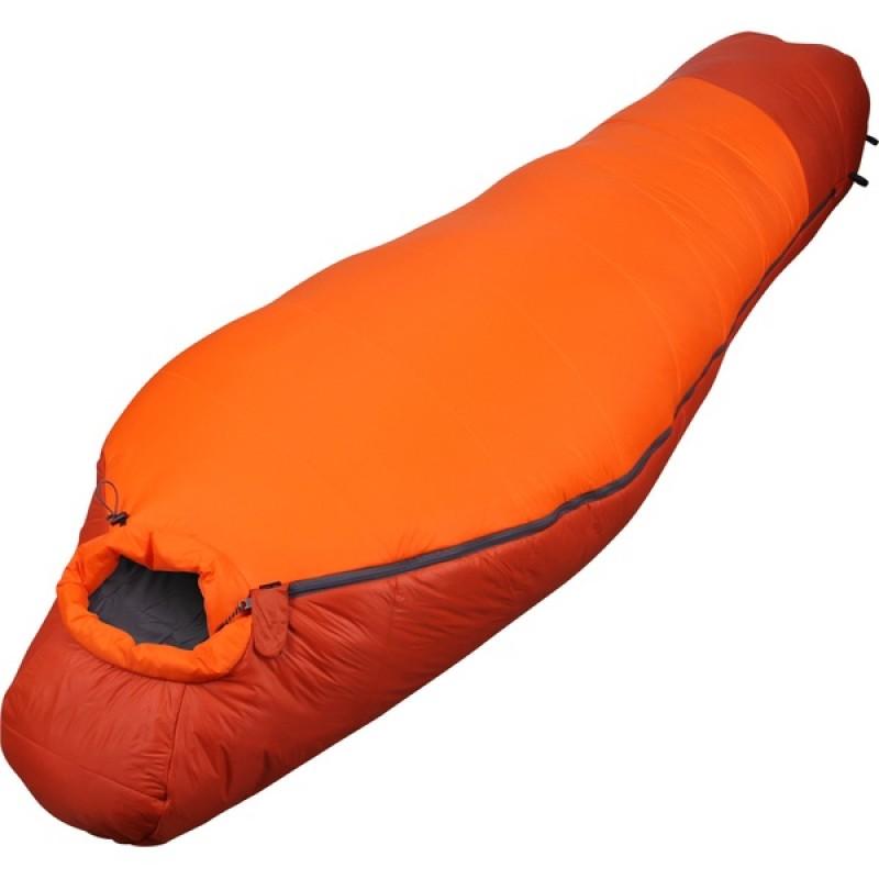Спальный мешок СПЛАВ Fantasy 340 мод. 2 Primaloft (терракот/оранжевый, правый) (фото 2)