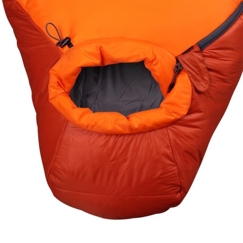 Спальный мешок СПЛАВ Fantasy 340 мод. 2 Primaloft (терракот/оранжевый, правый) (фото 3)