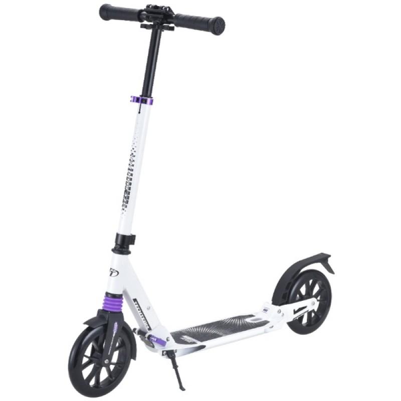 Самокат TechTeam City Scooter белый-фиолетовый