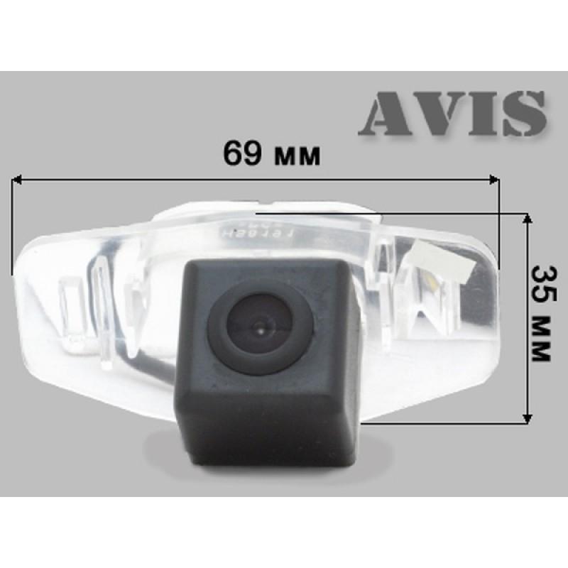 CMOS камера заднего вида для HONDA CIVIC 4D IX (2012-...)/ ACCORD IX (2012 - ...) (#020) (фото 2)