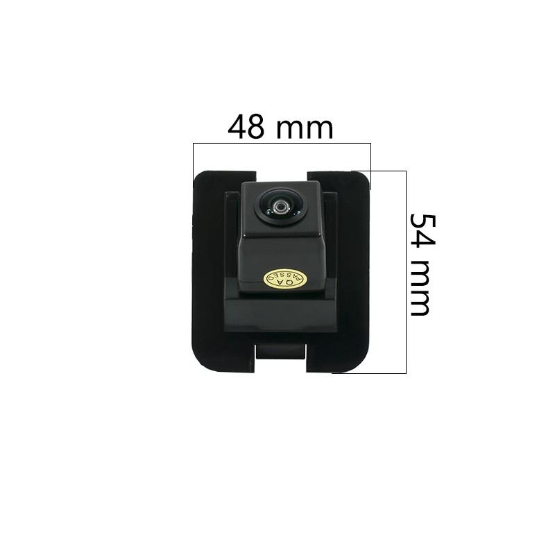 CCD HD штатная камера заднего вида AVS327CPR (#054) для MERCEDES CLS / GL / S-CLASS W221 (2005-2013) / SL-CLASS R230 FL (2008-2012) (фото 2)