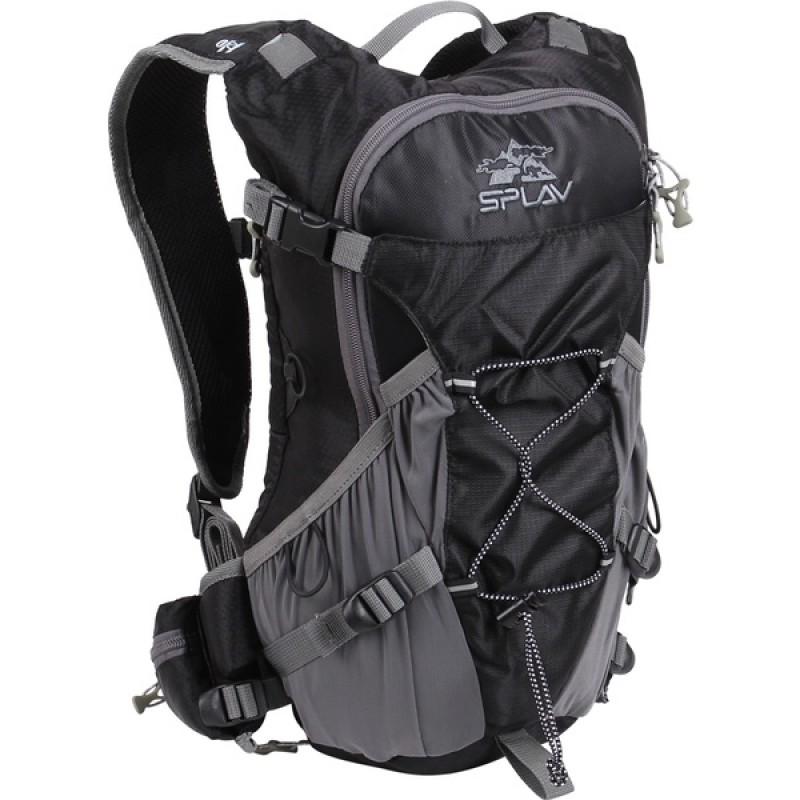 Туристический рюкзак СПЛАВ IMPULSE (серый) (фото 2)