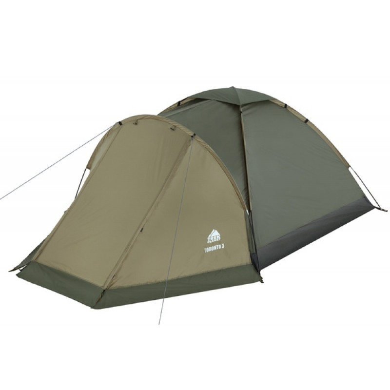 Палатка Jungle Camp (Trek Planet) TORONTO 2 оливковая (фото 2)