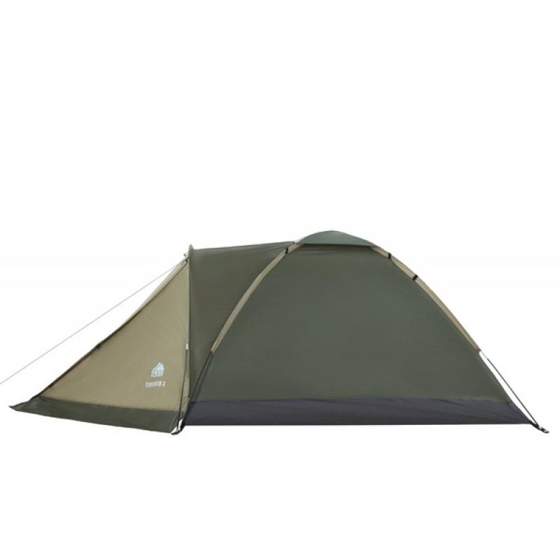 Палатка Jungle Camp (Trek Planet) TORONTO 2 оливковая (фото 3)