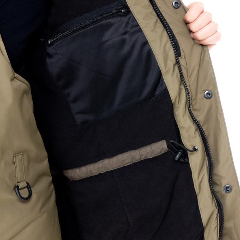 Зимний костюм для рыбалки Yukon Ice (Хаки, Breathable) Huntsman (фото 3)