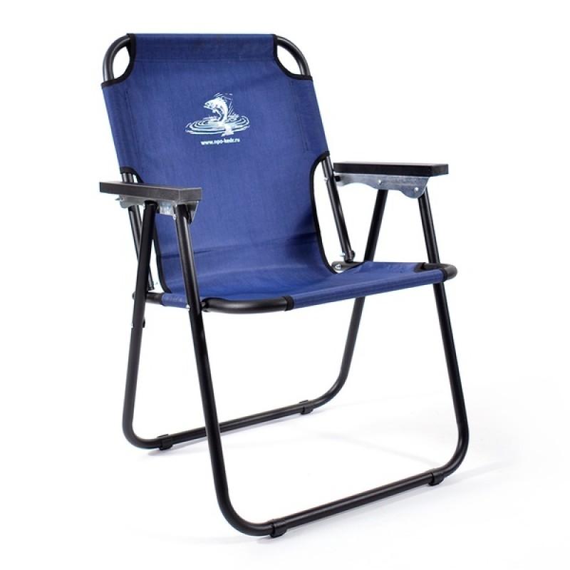 Кресло-шезлонг КЕДР SK-08 (сталь, синий)