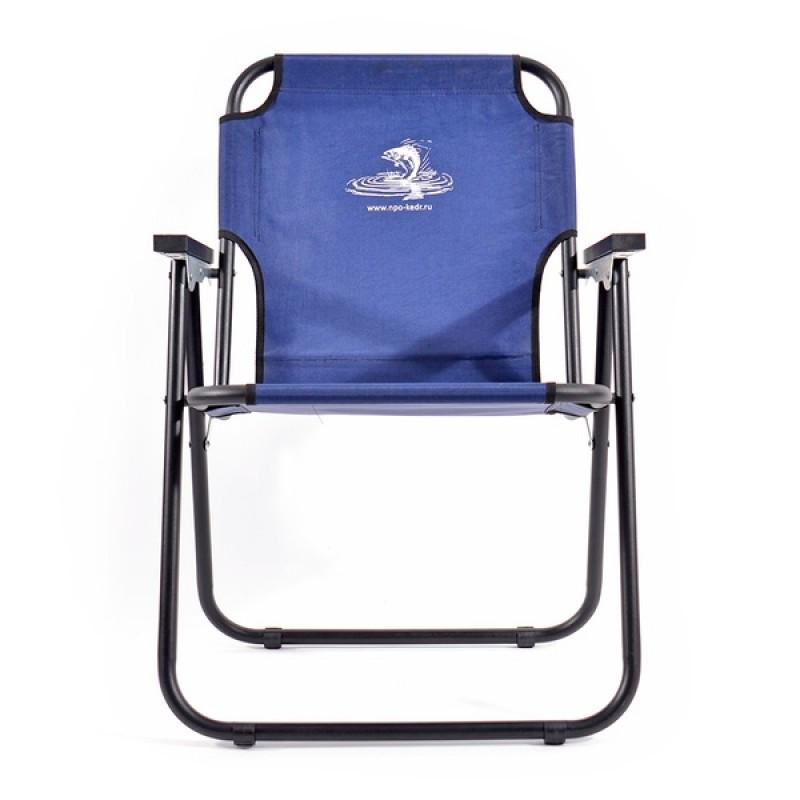 Кресло-шезлонг КЕДР SK-08 (сталь, синий) (фото 2)