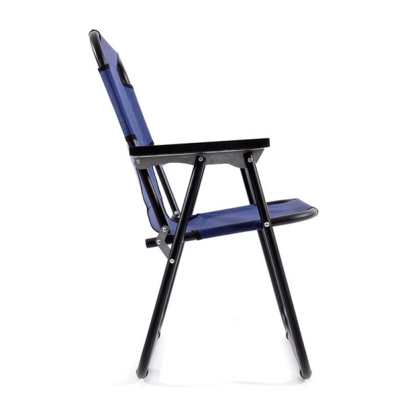 Кресло-шезлонг КЕДР SK-08 (сталь, синий) (фото 3)
