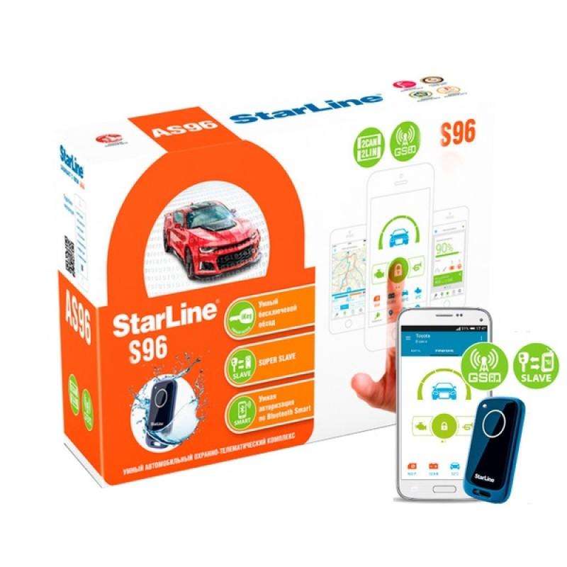 Автомобильная сигнализация Автосигнализация StarLine S96 BT V.2 2CAN+4LIN GSM