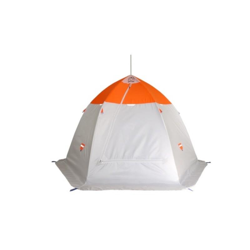 Палатка для зимней рыбалки Зонт Пингвин 3.5 (2-сл) (фото 2)