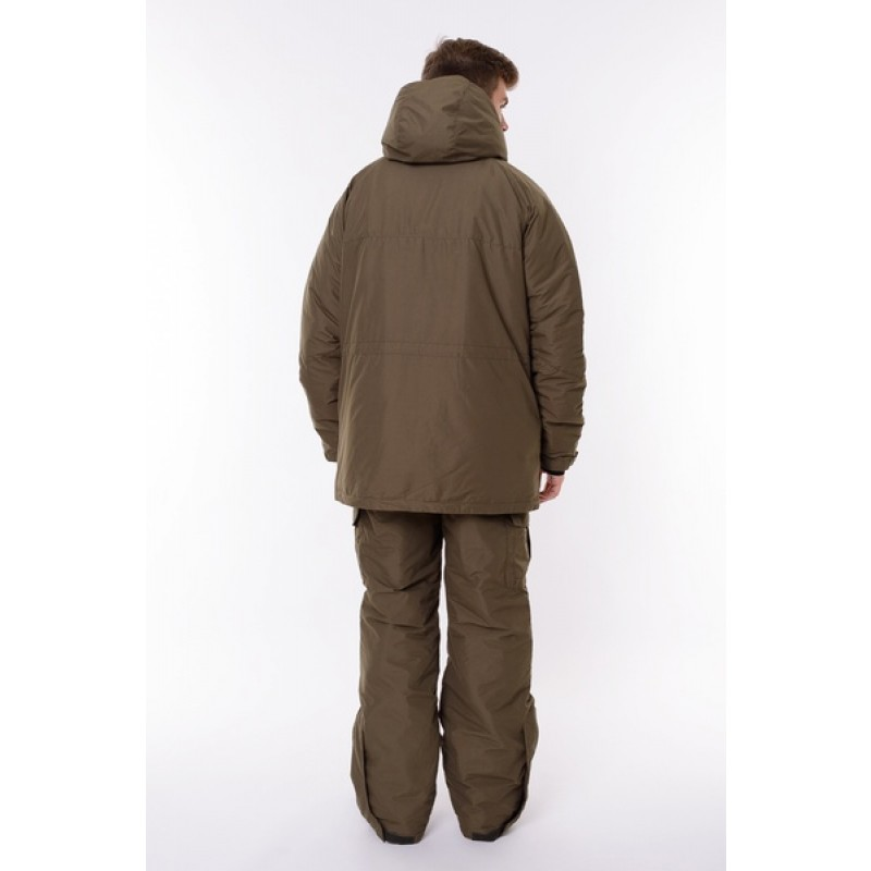 Зимний костюм для охоты и рыбалки ONERUS Хантер -45 (Канада, Хаки) Полукомбинезон (фото 3)