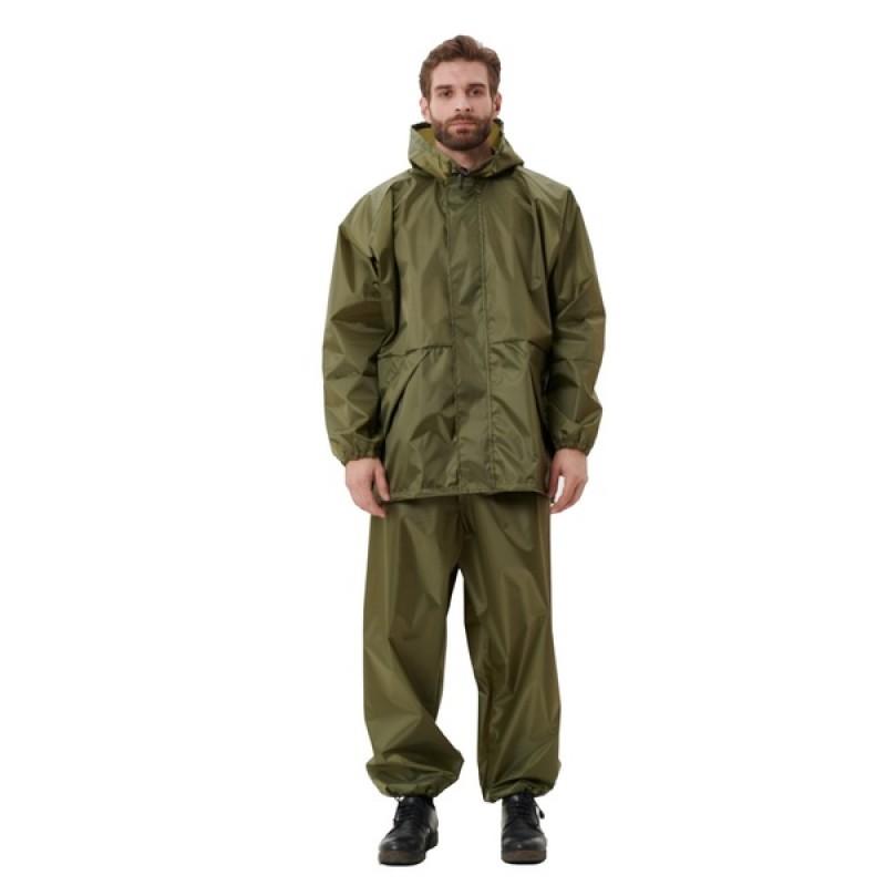 Легкий костюм-дождевик KATRAN ЦИКЛОН (Оксфорд, хаки) (фото 2)
