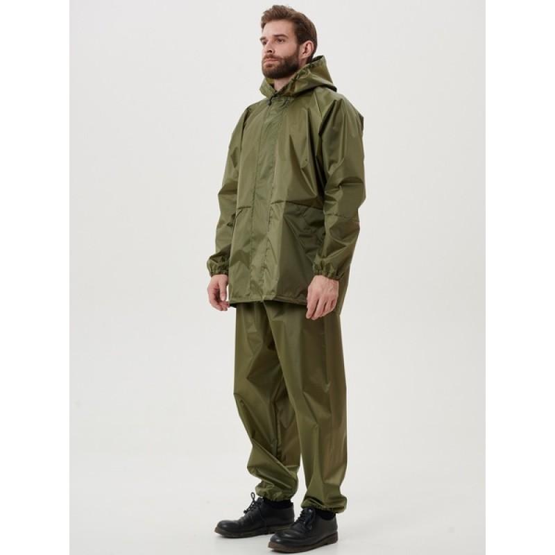 Легкий костюм-дождевик KATRAN ЦИКЛОН (Оксфорд, хаки) (фото 3)