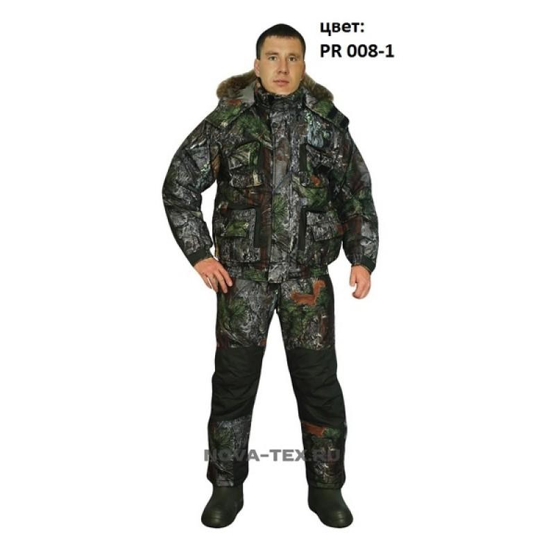 Зимний костюм для рыбалки и охоты «Фишер» -40 (Алова, PR 008-1) GRAYLING (фото 2)