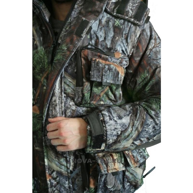 Зимний костюм для рыбалки и охоты «Фишер» -40 (Алова, PR 008-1) GRAYLING (фото 3)