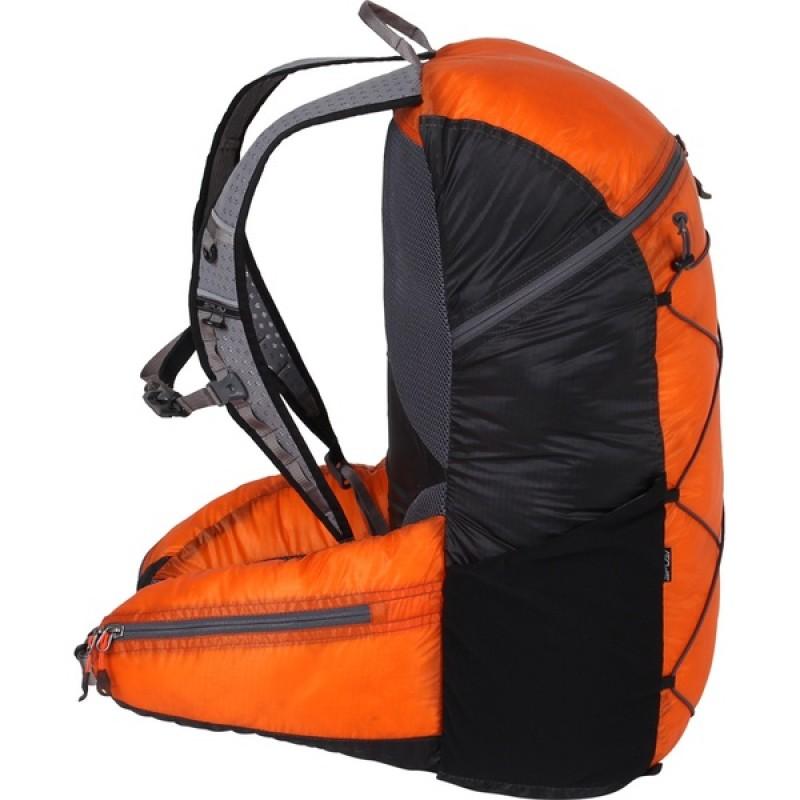 Туристический рюкзак СПЛАВ EASY PACK V.3 SI (черно-оранжевый) (фото 2)