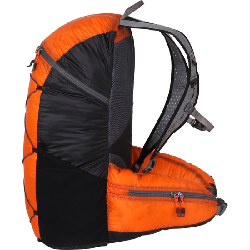 Туристический рюкзак СПЛАВ EASY PACK V.3 SI (черно-оранжевый) (фото 3)