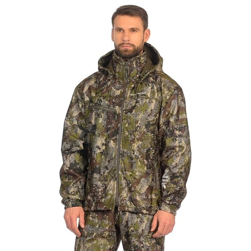 Демисезонный костюм Huntsman Никс ЛЮКС цвет Хамелеон ткань Alova windblock (фото 2)