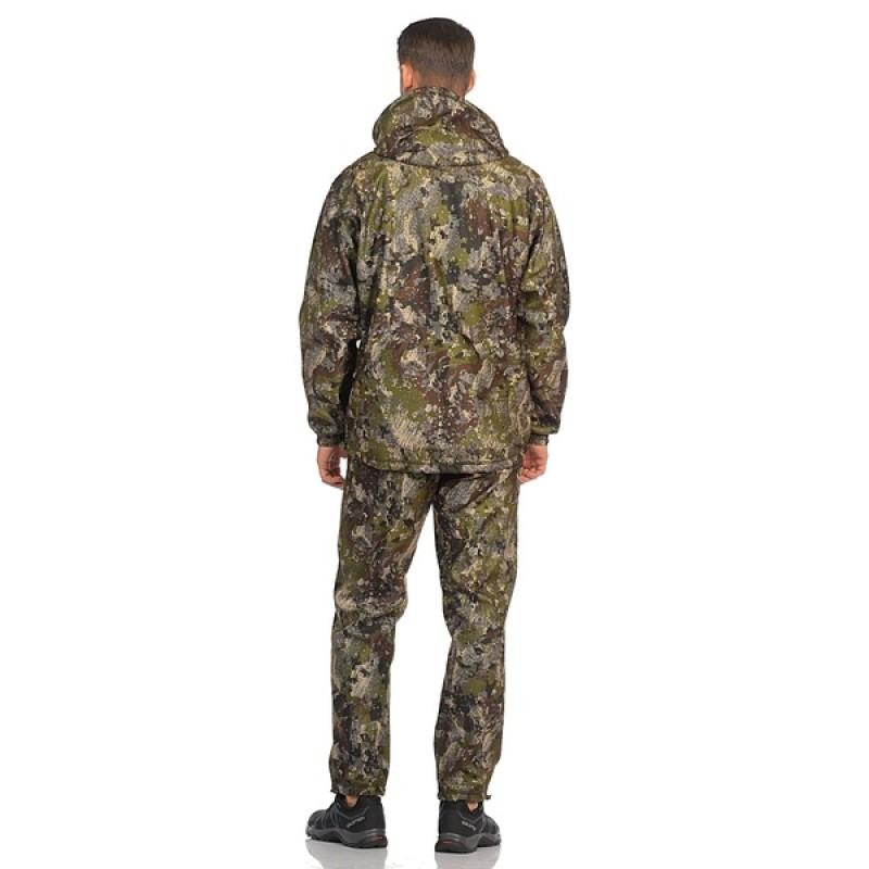 Демисезонный костюм Huntsman Никс ЛЮКС цвет Хамелеон ткань Alova windblock (фото 3)
