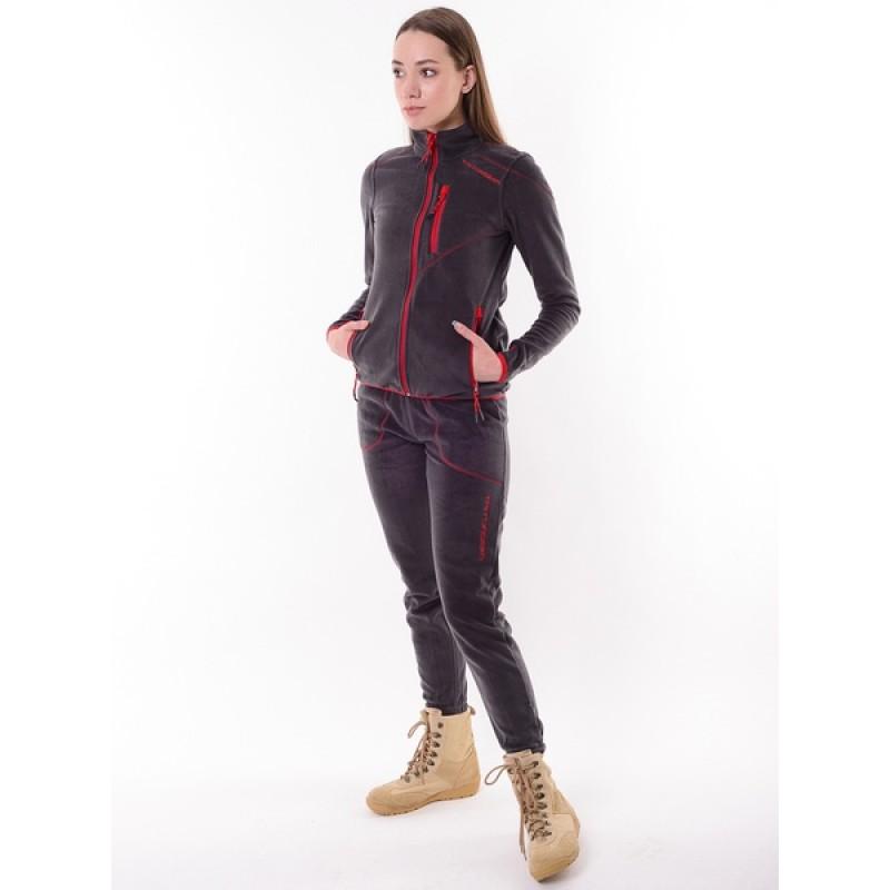 Женский флисовый костюм Тритон РИЧ (Флис, серый) (фото 3)
