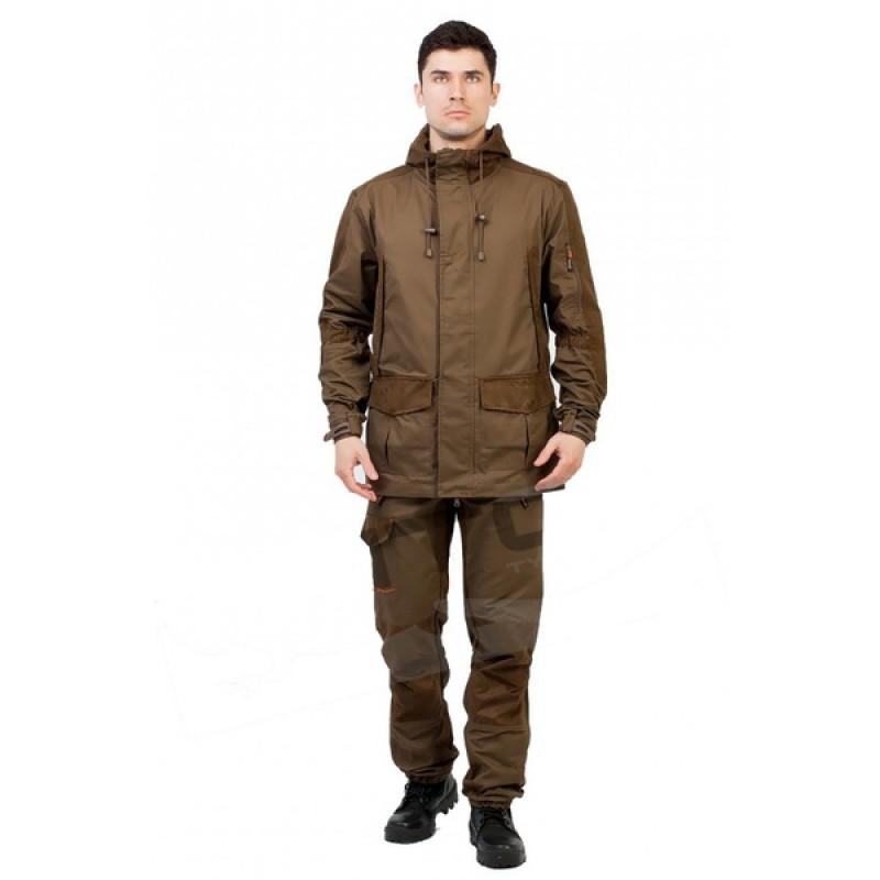 Летний костюм для охоты и рыбалки TRITON Охотник (Хлопок 180 гр., коричневый) (фото 2)